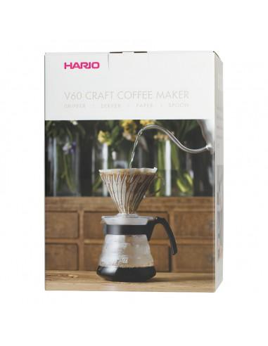 HARIO Coffee Maker V60 Pour Over Kit...